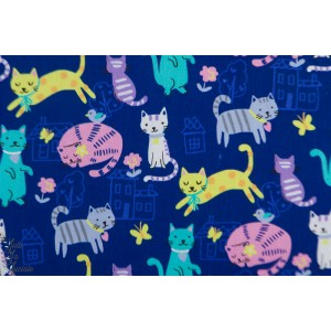popeline cats - Windham Fabric on a kind popeline enfant chat aniamaux