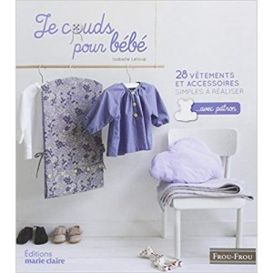 Livre Je couds pour bébé