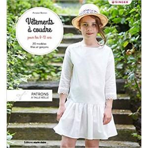 Livre Vêtements à coudre pour les 8-12 ans - Anabel Benillan