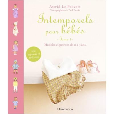Livre Intemporels pour bébés  Astrid Le Provost patron couture layette