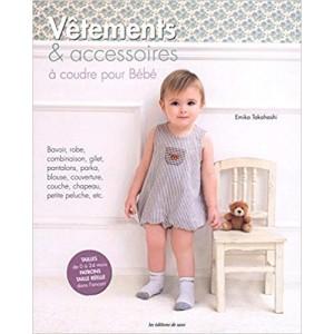 Livre Vêtements et accesoires à coudre pour bébé