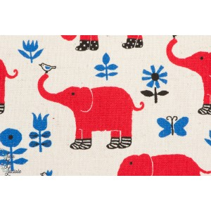 Elephants aux naturel par Kokka