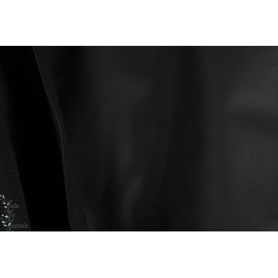 Simili cuir épais gaufré noir
