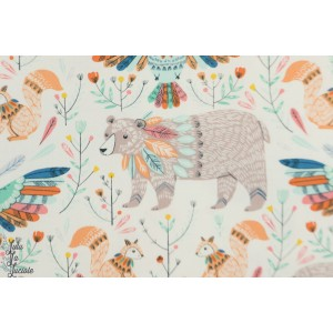 Popeline Dashwood BOHO MEADOW 1374 animaux bethan janine nature