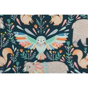 Popeline Dashwood BOHO MEADOW 1375 bethan janine animaux nature