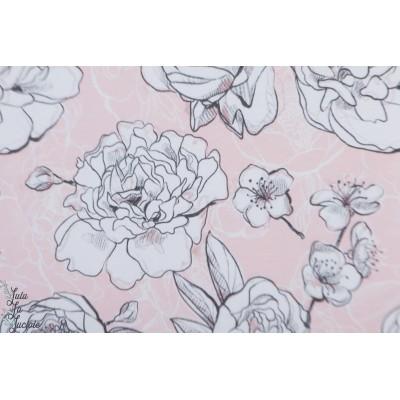 Jersey bio Flores Lillestoff fleur  enemenemeins