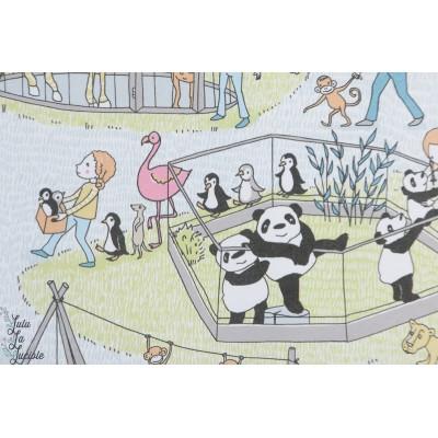 Jersey bio SUSAlabim Zoo Lillestoff animaux enfant