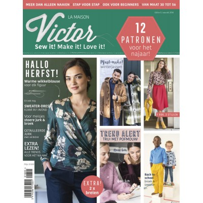 Magazine Maison Victor 05-2018 femme famille patron coutute tricot enfant mode