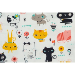 Popeline Cool for cats 1385 Dashwood Studio