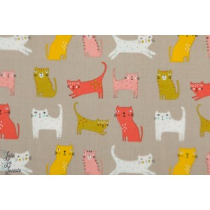 Popeline Cool for Cats 1386 Dashwood Studio Sally Payne