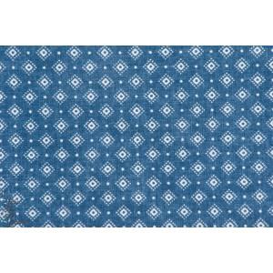 tissu coton bio Jean Hilco 103 - losange
