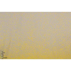 Panneau jersey Bio Zitronella Lillestoff pois jaune graphique lillemo