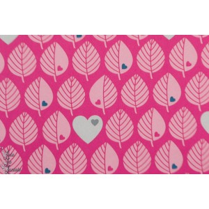Softshell by Graziela Fushia graphique coeur rose