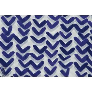 Batiste Kokka Treffle bleu graphique mode femme