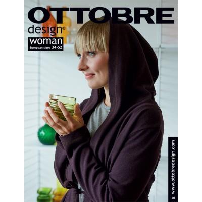 Magazine Ottobre Design Woman 5/2018 en Français couture patron femme
