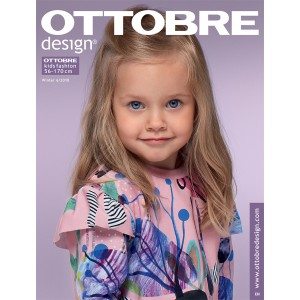 Magazine Ottobre Design kids 6/2018 patron couture enfant