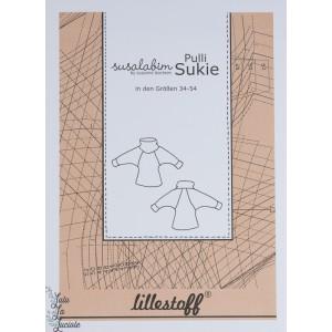 Patron couture Pull over SUKKIE femme - Allemand, susalabim lillestoff
