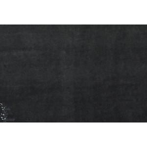 Velours minky ras Hilco gris foncé
