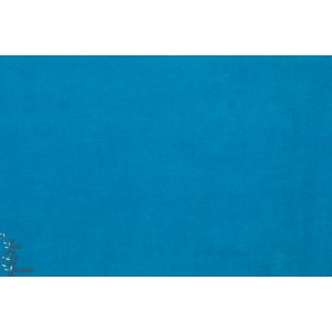 Velours minky ras Hilco turquoise