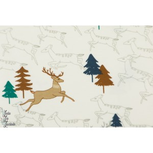 Tissu jersey Forest Deers Katia fabric