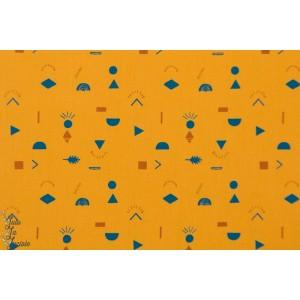 Tissu popeline Prehistoric kombi Katia Fabrics