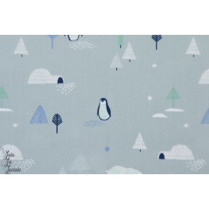 Tissu popeline North Landscape Katia Fabrics