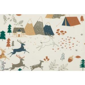 sweat-shirt Camping Forest Katia Fabrics