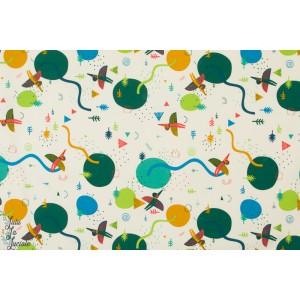 Tissu molletonné Prehistoric Landscape Katia fabric