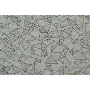 Tissu molletonné ou pour sweat-shirt melange kombi ours Katia Fabrics