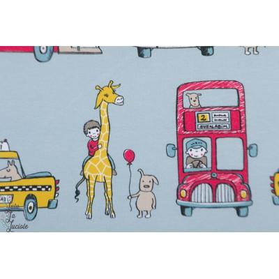 Jersey bio Unterwegs Lillestoff transport animaux bus rigolo susalabim enfant