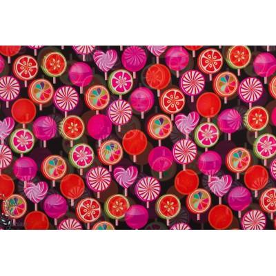 Softshell Sucettes impermeable manteau roudoudou graphique rouge