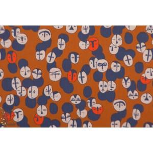 popeline Arty Ethnic Katia fabric