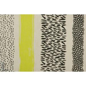Tissu Canvas Geo Fluo Katia Fabric