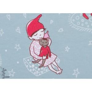 Jersey Bio Wichtelweihnacht Lillestoff - elfes de Noêl- SUSAlabim