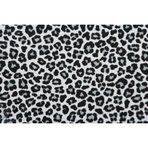 Jersey Stenzo leopard noir et blanc
