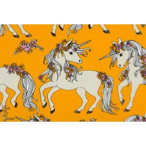 Jersey Digital Yksisarvinen ocre Jolies Licornes Verson Puoti jaune