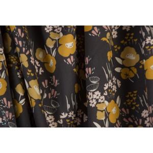 Rayon Dovestone DOVE1360 Wildflower viscose fleur rétro vintage automne Dashwood Studio