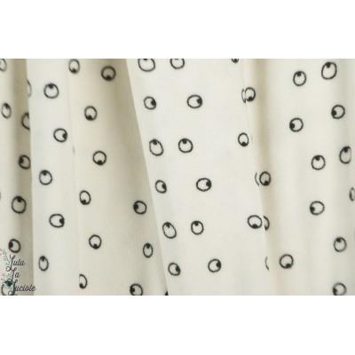 Eponge Bio Eva Mouton Eyes blanc graphique pilou pilou pyjama pinguoin