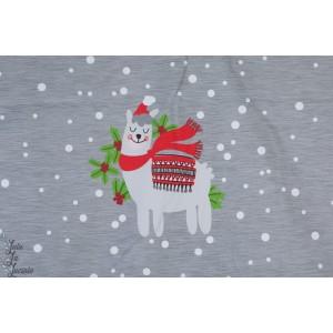 Panneau Sweat Franz Weihnachten Bio Lillestoff
