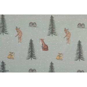Sweet Sweat Hilco animaux de la forêt en hiver