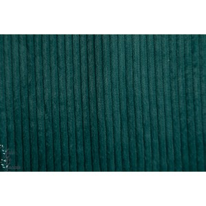 Velours Hilco grosse cote vert celadon