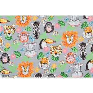 Sweat Exotic Animals Digital animaux jungle coloré enfant