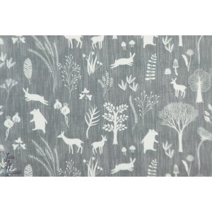 Sweat hilco Sweet Sweat paysage hiver forêt animaux