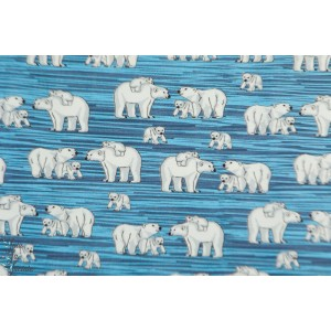 Jersey hilco Icebear Family famille ours polaire aniamaux