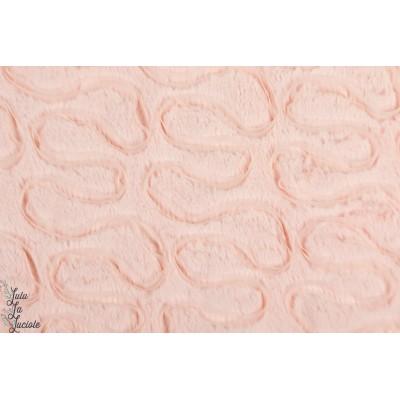 """''Colette Sweat"""" Hilco fourure texturée rose"""