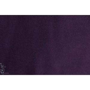Caban Aubergine violet manteau