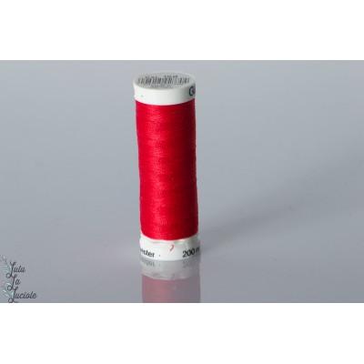 Fil Gutermann 200m couleur 156 rouge