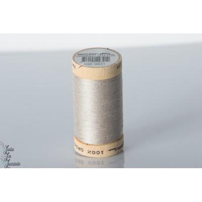 Fil coton organique scanfil gris 4831bio gots