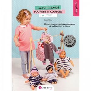 Livre Le petit monde des poupons  - Céline Pelizat