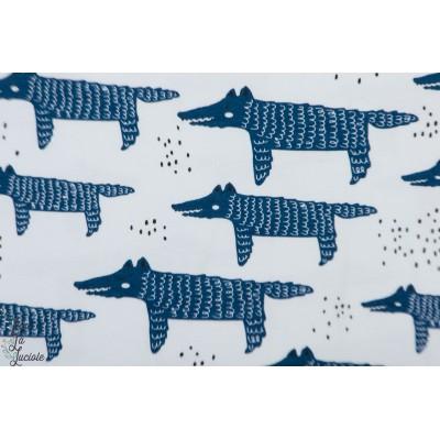 Jersey Bio Tygrdômmar Wolfy Bleu loup graphique animaux